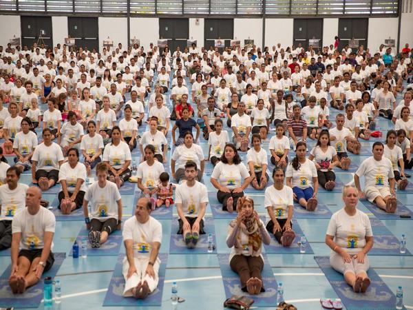 4th International Day of Yoga in Seychelles