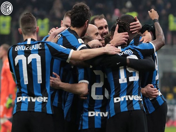 Inter Milan secured a massive 4-1 win over Cagliari. (Photo/ Inter Milan Twitter)