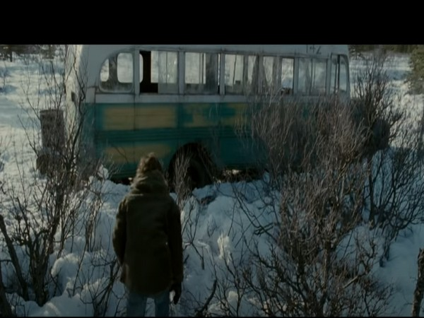 A still from the movie 'Into the Wild' that was based on the life of the adventurer Christopher McCandless (Image source: YouTube)