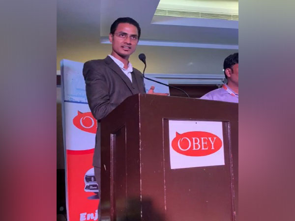 Sanjai Kumar Founder and CEO of Obey Cabs