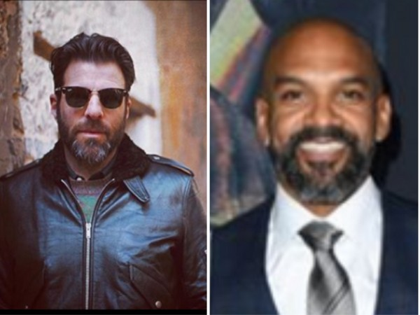 Actors Zachary Quinto and Khary Payton. (Image source: Instagram)