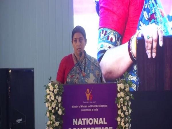 Union Minister for Women and Child Development Smriti Irani. (Photo/ANI)