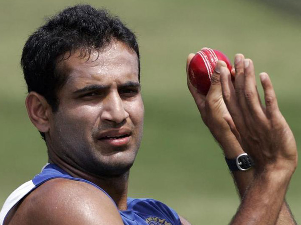 Indian all-rounder Irfan Pathan
