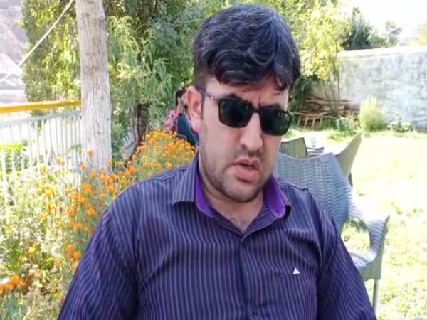 Irshad Kazmi, Information Secretary of Gilgit Baltistan Disability Alliance