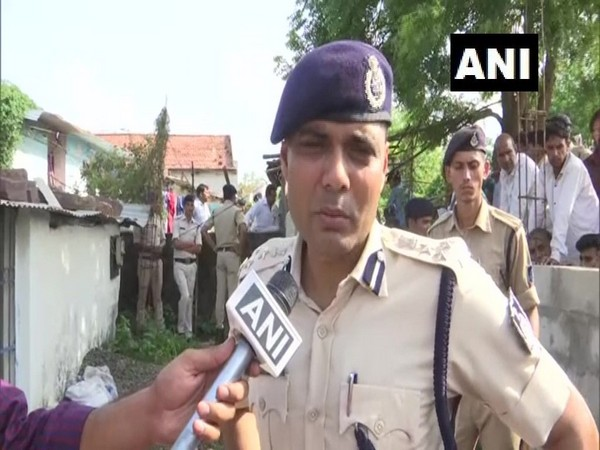 Deputy Inspector General Irshad Wali while talking to ANI on Tuesday in Bhopal. Photo/ANI