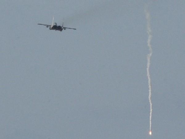 Israeli fighter jets strike Gaza (Photo Credit: Reuters)