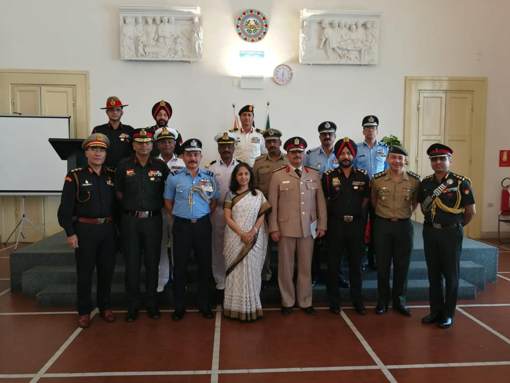 A ceremony was organised in Prato, near Florence in Italy to commemorate the sacrifice made by two Indian soldiers during WW II