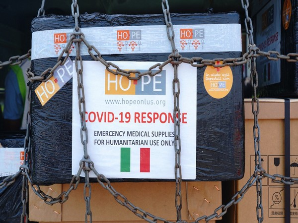 Italy sends medical aid to India (Photo/Credit: Twitter/ @MEAIndia)