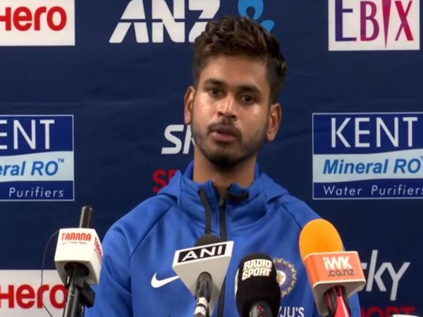 Indian cricketer Shreyas Iyer