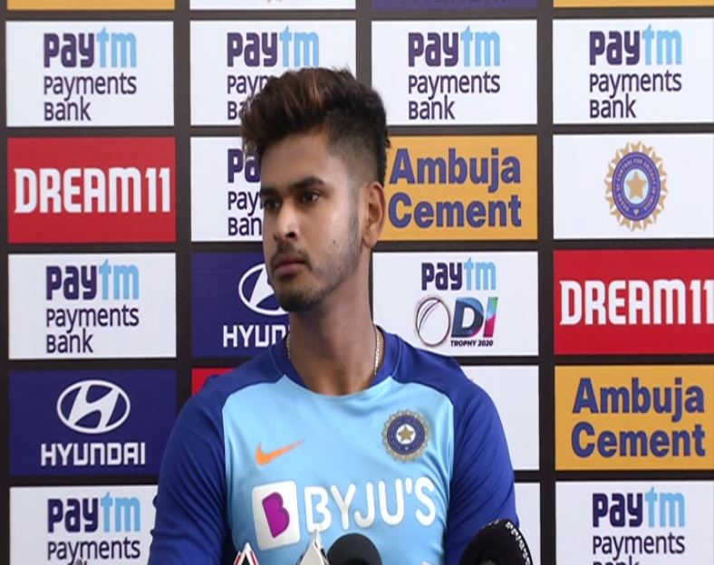 India batsman Shreyas Iyer