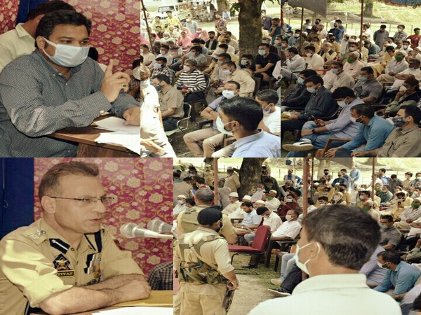 Anantnag administration organises public Darbars at Marhama and Sirhama of Bijbehara constituency. (Photo/ANI)