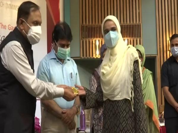 SKIMS appreciating nursing staff for serving people tirelessly. (Photo/ANI)