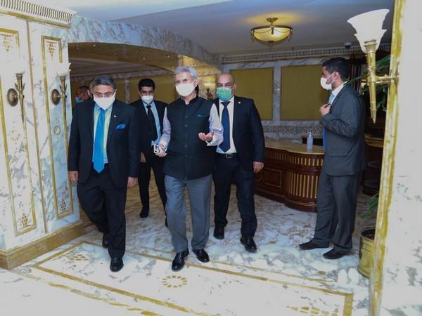 External Affairs Minister (EAM) S Jaishankar arrives in Kuwait on bilateral visit.
