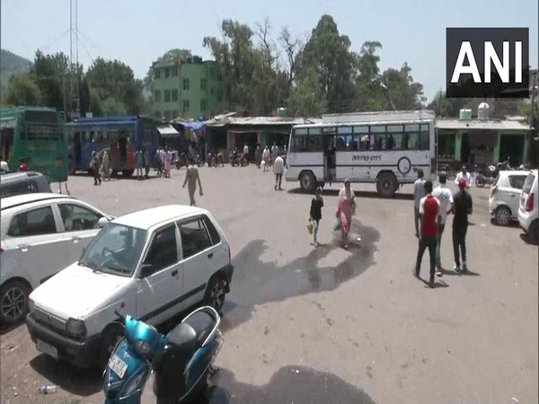 A view of the Poonch bus stand. (Photo/ANI)