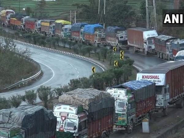 Jammu and Kashmir Highway (File photo/ANI)
