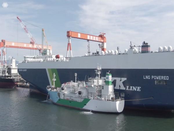 Japanese shipping company NYK