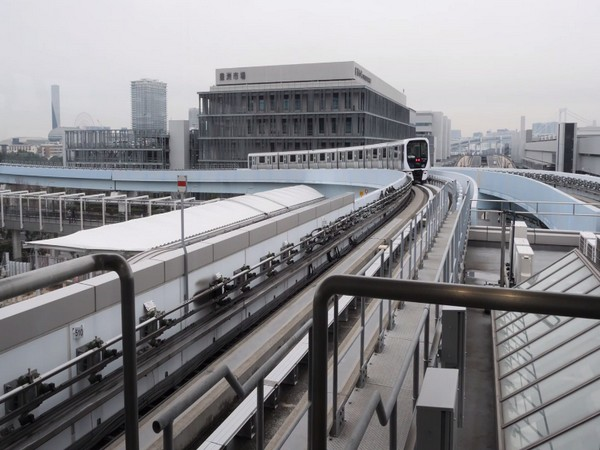 Automated transit service for passengers in Tokyo.