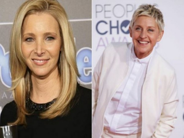 Lisa Kudrow and Ellen DeGeneres