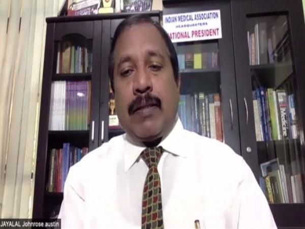 Indian Medical Association (IMA) President Dr JA Jayalal. (file photo)