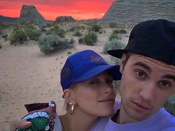Hailey Baldwin and Justin Bieber, Image courtesy: Instagram