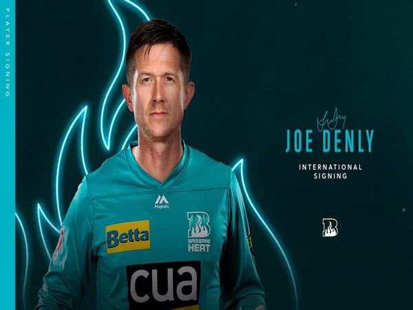 England batsman Joe Denly (Photo/ Brisbane Heat Twitter)