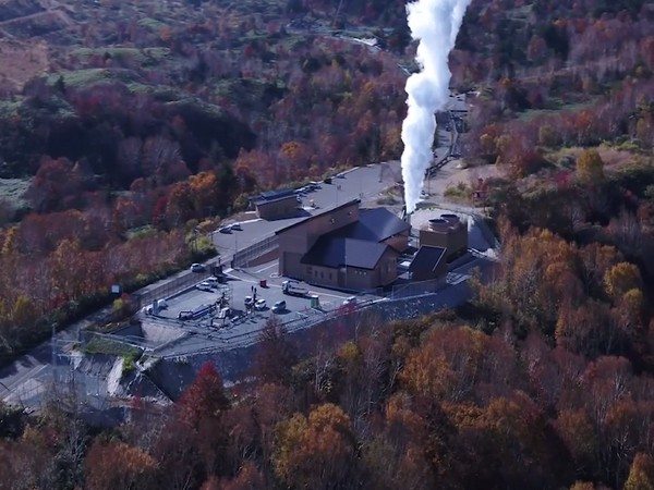 A new geothermal electric power generation was launched in Matsuo-Hachimantaiarea, Iwate Prefecture