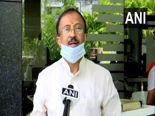 Union Minister of State for External Affairs V Muraleedharan (file pic/ANI).