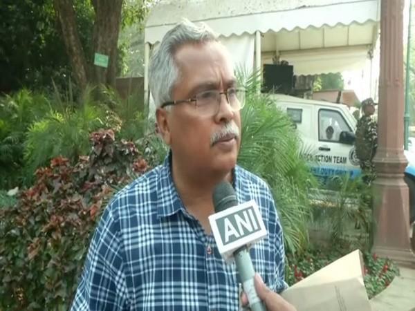 CPI Rajya Sabha MP Binoy Viswam [Photo/ANI]