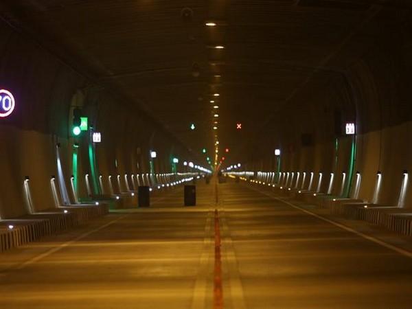 A view of Chenani-Nashri tunnel.