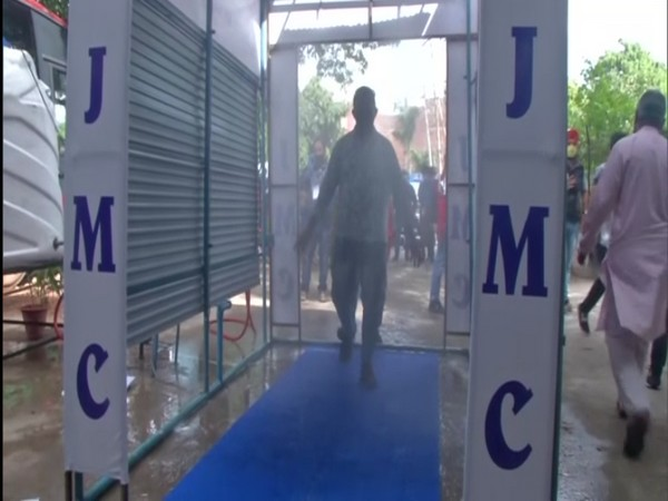 A visual of the facility installed in Jammu.