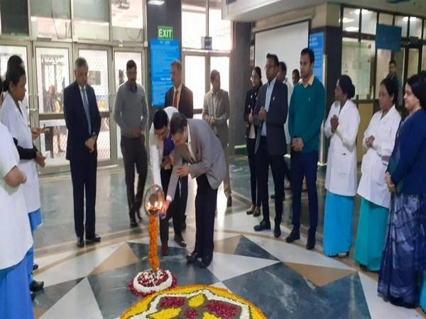 The new facilities at JNPA were inaugurated on Monday by AIIMS Director, Randeep Guleria. (Photo/ANI)