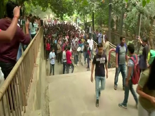 Students have been protesting against alleged norms to restrict entry in hostels among others in JNU. (File photo)