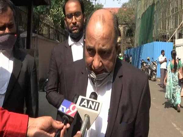 Advocate JP Mishra, lawyer of BJP MP Sadhvi Pragya Thakur, speaking to reporters in Delhi on Saturday. Photo/ANI