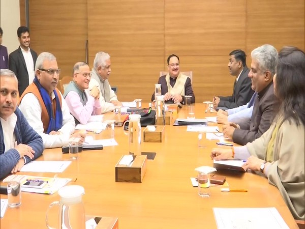 JP Nadda chairs meeting to discuss organisational elections