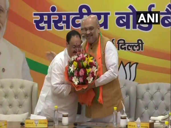 JP Nadda appointed as working president of BJP on Monday