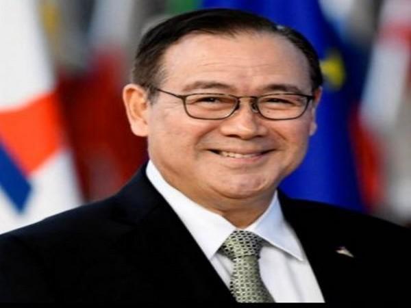 Philippine foreign minister Teodoro Locsin