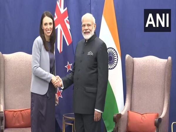 Prime Minister Narendra Modi with New Zealand counterpart Jacinda Ardern in New York