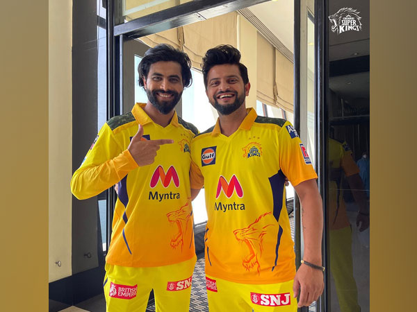 Ravindra Jadeja and Suresh Raina (Image: Chennai Super Kings)