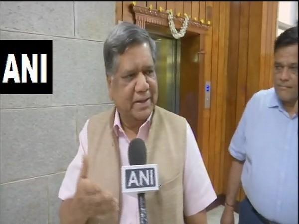 Karnataka Medium and Large Industries Minister Jagadish Shettar. (File Photo/ANI)