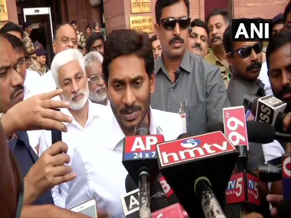 Andhra Pradesh Chief Minister Jagan Mohan Reddy in Delhi