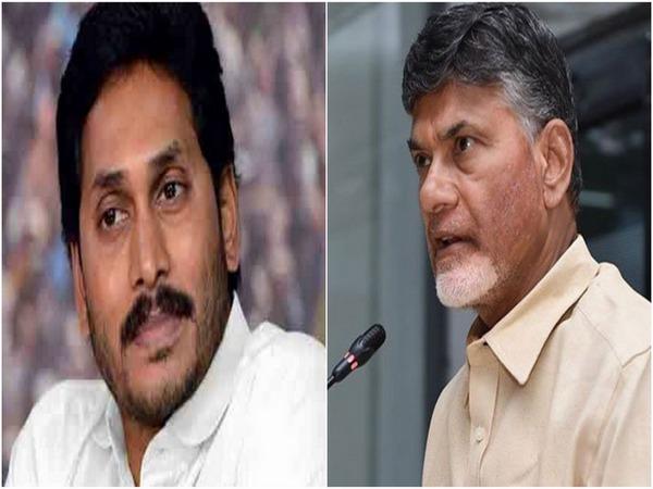 Andhra Pradesh Chief Minister Jagan Mohan Reddy (l) and TDP cheif N Chandrababu Naidu (File photo)