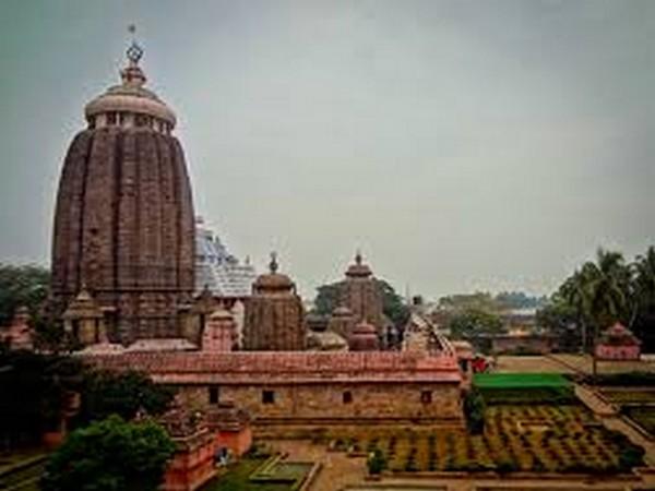 Jagannath Temple in Puri.