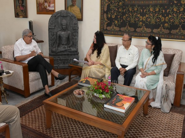 Bengal Intellectual Society delegation meets West Bengal Governor Jagdeep Dhankhar.