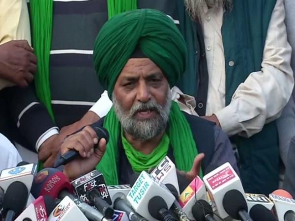 General Secretary of the Bharatiya Kisan Union of Punjab, Jagmohan Singh (Photo ANI)