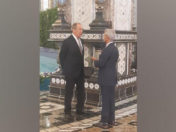 External Affairs Minister (EAM) Dr S Jaishankar met Russian counterpart Sergey Lavrov