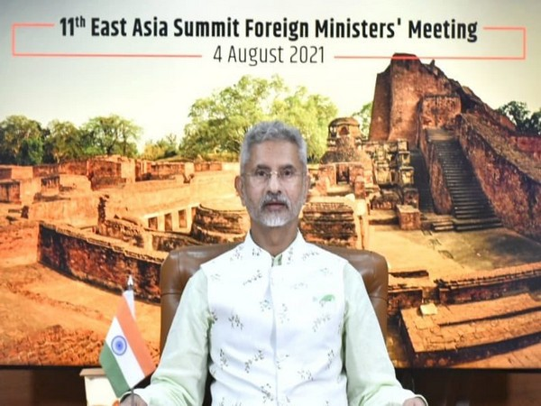 EAM S Jaishankar addressing the 11th EAS Foreign Ministers Meeting today.