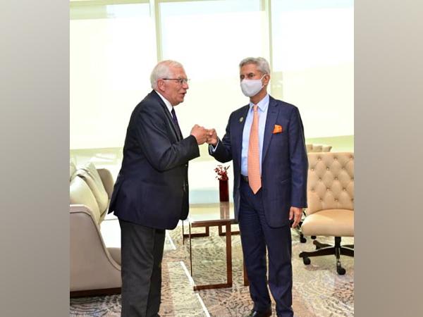 External Affairs Minister (EAM) S Jaishankar on Friday met Josep Borrell Fontelles, High Representative of the EU for Foreign Affairs and Security Policy