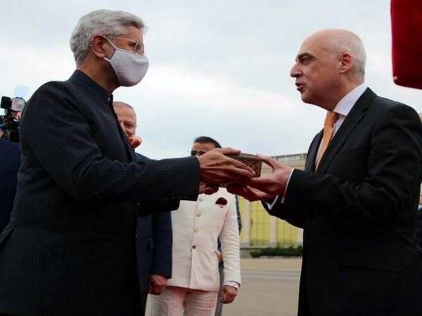 External Affairs Minister (EAM) S Jaishankar on Friday landed in Tbilisi, Georgia.