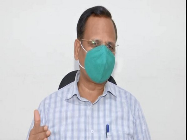 Delhi Health Minister Satyendar Jain. [Photo/ANI]