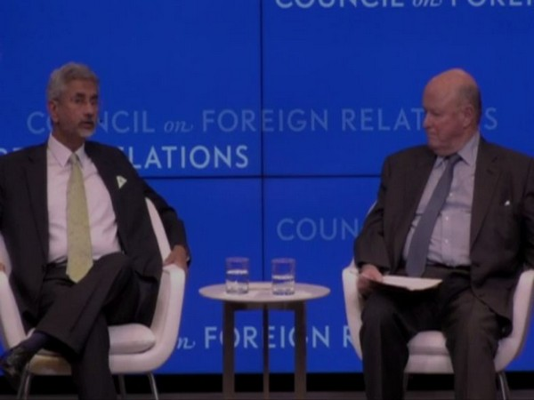 External Affairs Minister S Jaishankar at Council on Foreign Relations (CFR) programme in New York